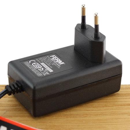 FERM CDA1101 Fast Charger Adapter 12V voor accuboormachines CDM1118, CDM1119, CDM1129 en CDM1137