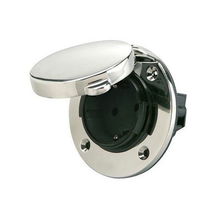 Ratio Walstroom stopcontact/ outlet 16A RVS