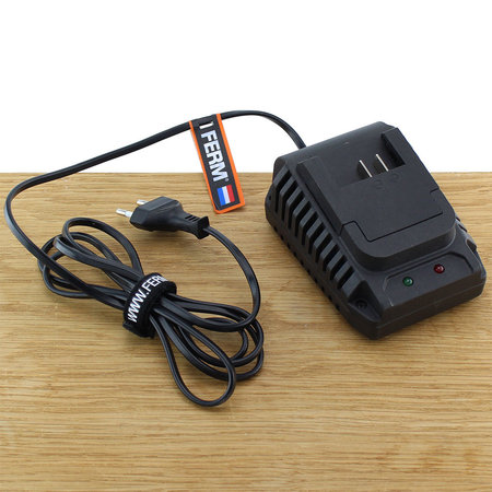 FERM CDA1104 Fast Charger Adapter 16V voor accuboormachine CDM1133