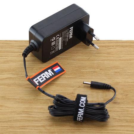 FERM CDA1086 Fast Charger Adapter 10.8/12V voor accuboormachines CDM1118, CDM1119 en CDM1129