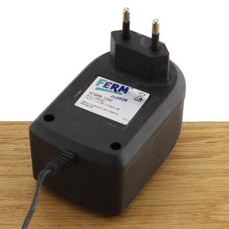 FERM Charger Adapter 16.8V 2.4A voor 16.8V en 18V boormachines