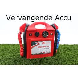SOS Booster Vervangende Accu voor Micro 12V 800CA