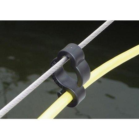 Ratio Rail clip voor veilig plaatsen van walstroomkabels (16A)
