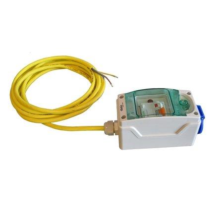Ratio Electrical cabinet Single (1x Schuko outlet) met kabel