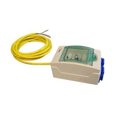 Ratio Electrical cabinet Dual (2x Schuko) met kabel
