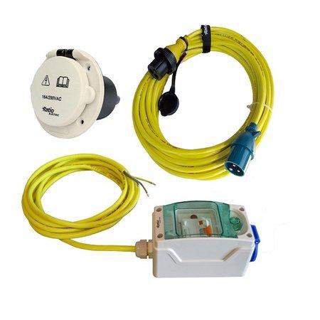 Ratio MP16-K-Kit 10A voor AC16 walstroomsysteem | kunststof inlet