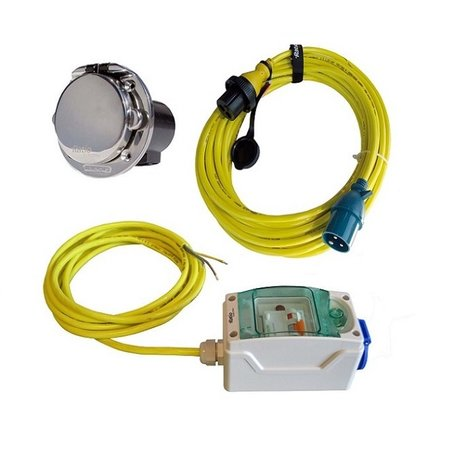 Ratio MP16-Kit 10A voor AC16 walstroomsysteem | RVS inlet