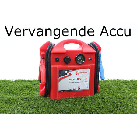 SOS Booster Vervangende Accu voor Micro 12V 700CA
