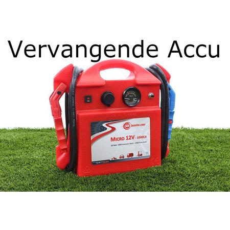 SOS Booster Vervangende Accu voor Micro 12V 1000CA
