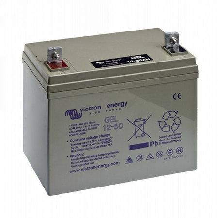 Victron Gel 12V/60Ah Deep Cycle Accu/ Batterij
