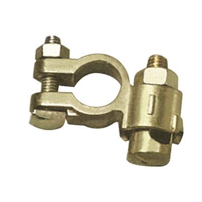 GYS Accupoolklem voor auto / bedrijfswagen (dubbel, min)