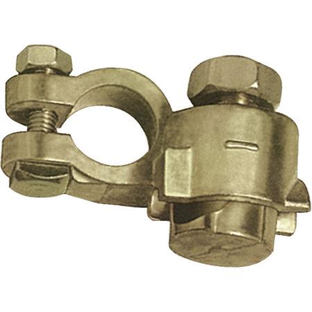 GYS Accupoolklem 16-70mm2   accuklem voor zware voertuigen (dubbel, min)