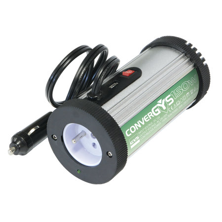 GYS Convergys 150 - 12V/150W | Inverter sigarettenaansteker-plug