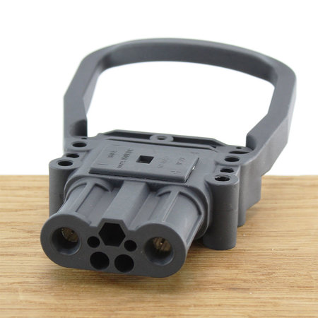 REMA Eurostekker 160A - Vrouwelijk - 25mm² - Met aangegoten handvat