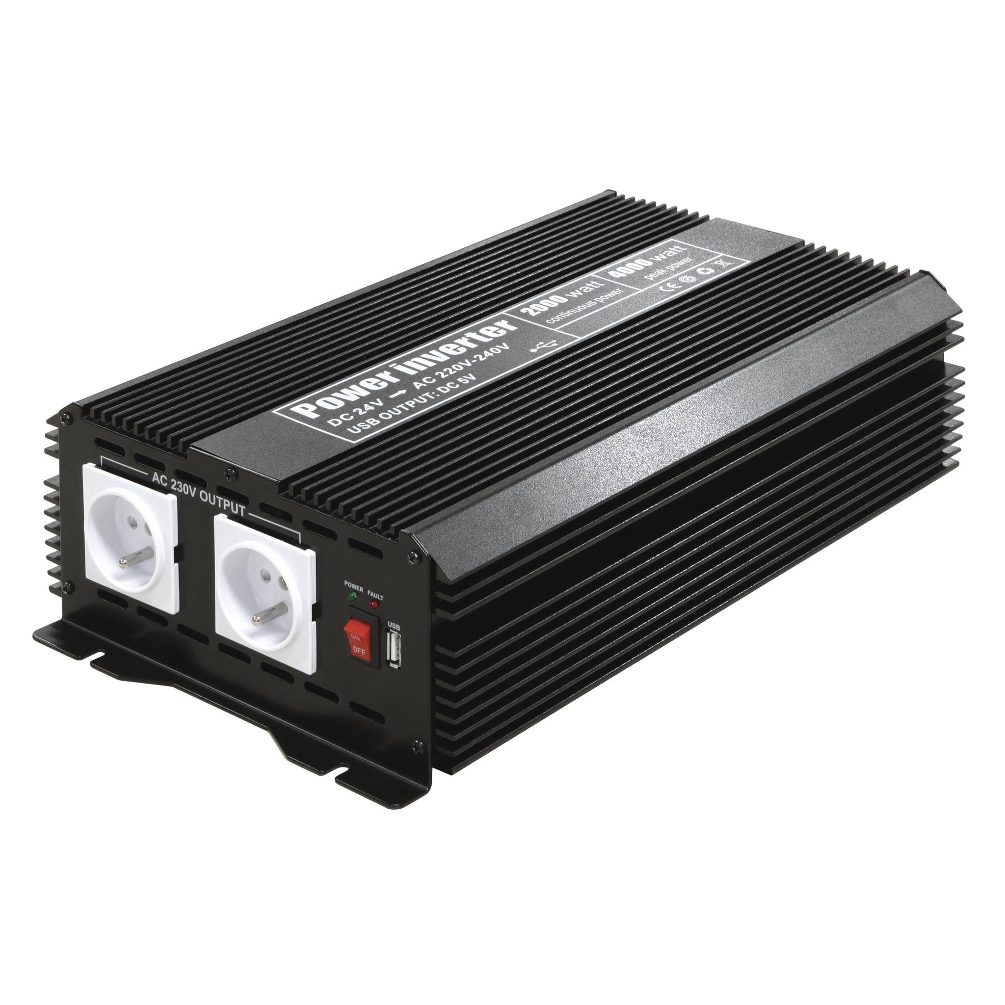 Omvormer-inverter MSW 82000 2000W 24V