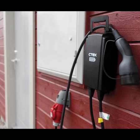 CTEK Njord Go Mobiele lader type 2 naar CEE - 3 fase 16A - 6,5 meter