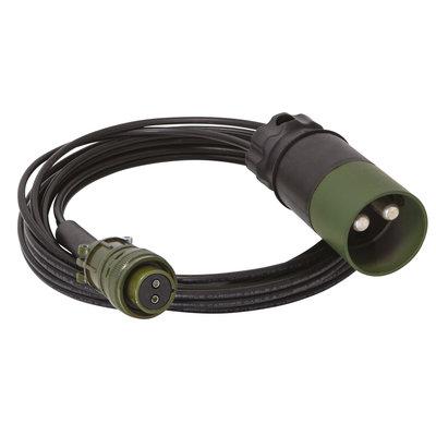 GYS accukabel 5m - 4mm2 Nato voor GYSFLASH 15.24 XTREM