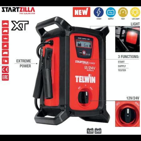 Telwin Booster Startzilla 9024 XT - jumpstarter, voeding en tester