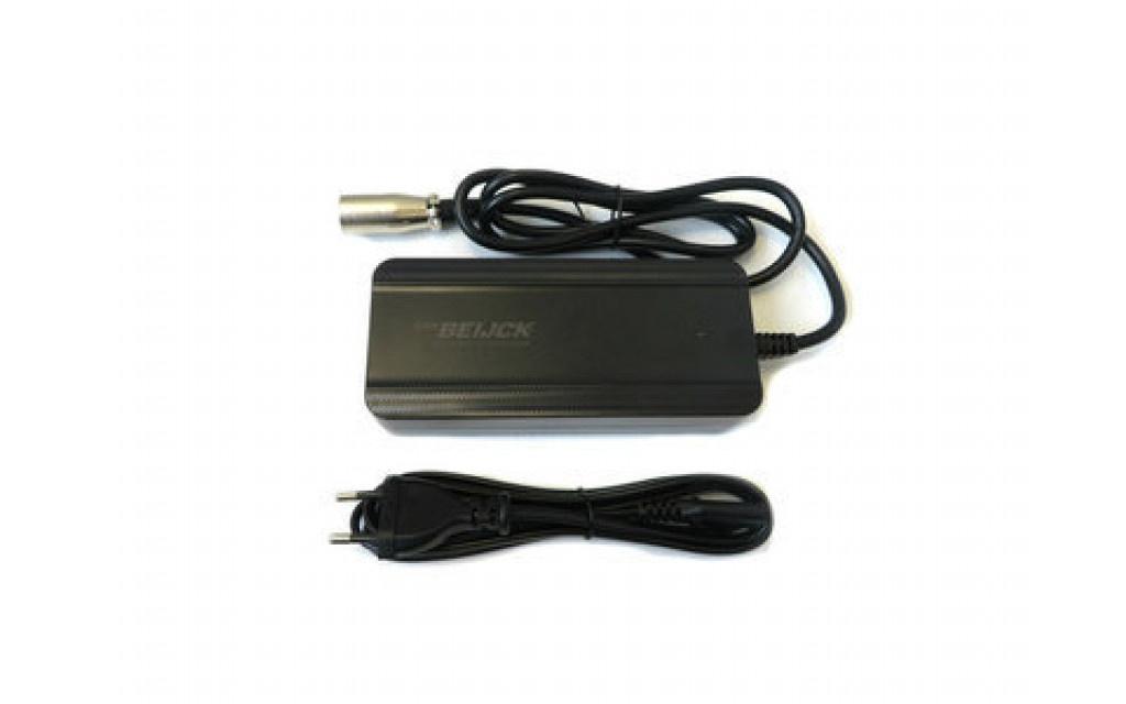 Fiets acculader 36V 2A XLR 4-pins Neutrik