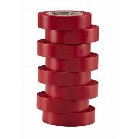 BizLine Vinyltape 15mm x 10m rood