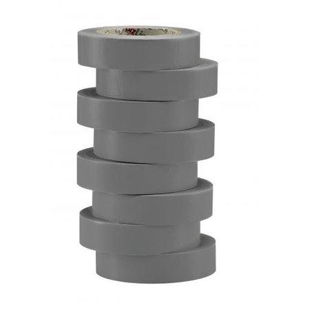 BizLine Vinyltape 15mm x 10m grijs