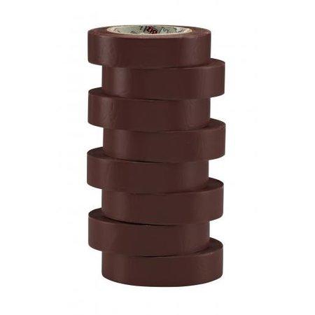 BizLine Vinyltape 15mm x 10m bruin