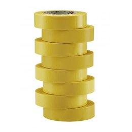 BizLine Vinyltape 15mm x 10m geel