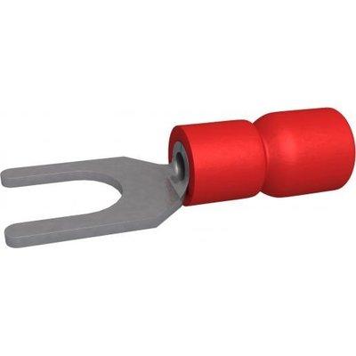 BizLine vorkkabelschoen Rood Geïsoleerd 0,5-1,5mm2 - M5