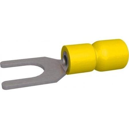 BizLine vorkkabelschoen Geel Geïsoleerd 4-6mm2 - M3