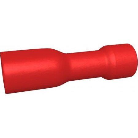 BizLine Vlaksteker Geïsoleerd Vrouwelijk Rood 0,5-1,5mm2 - 2,8 x 0,8 mm