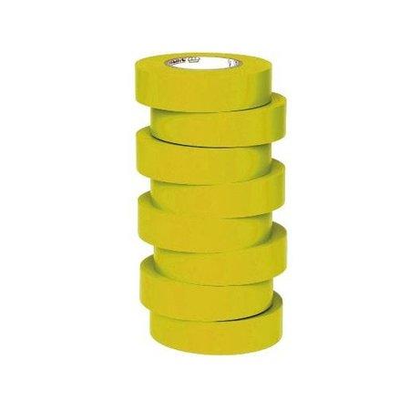BizLine Hoogwaardige vinyltape 19mm x 20m geel