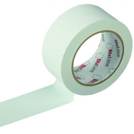 BizLine Zelfklevende tape 50mm x 33m PVC wit