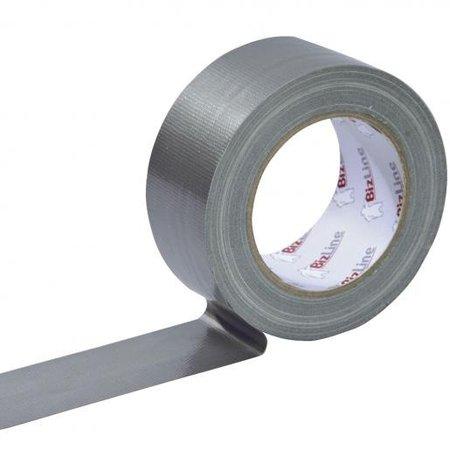 BizLine Duct tape 50mm x 25m grijs (ongevulkaniseerd rubber)