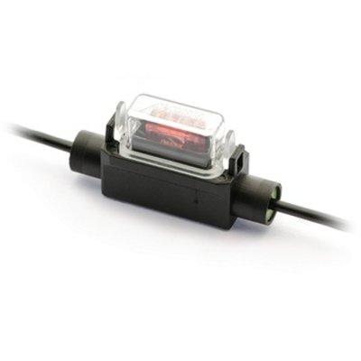 Zekeringhouder Minioto 1.5mm2 zwart met beschermkapje