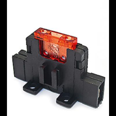 Zekeringhouder Normoto 6.3mm horizontaal inline tab