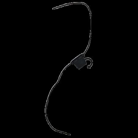 Zekeringhouder / fuse holder Normoto 1.5mm2 zwart met kapje voor Mini zekering tot 20A