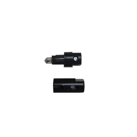 Zekeringhouder / fuse holder Ceramicoto bakelietschroef 1p incl. 8A zekering