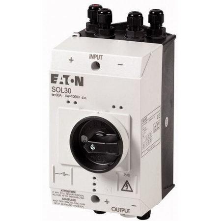 Eaton PV-Schakelaar SOL30 Lastscheider 2 x MV