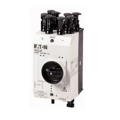 Eaton PV-Schakelaar SOL20 Lastscheider 4 x MC4