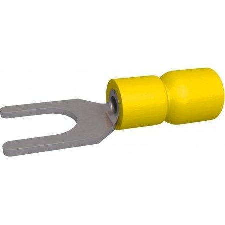 BizLine vorkkabelschoen Geel Geïsoleerd 4-6mm2 - M4