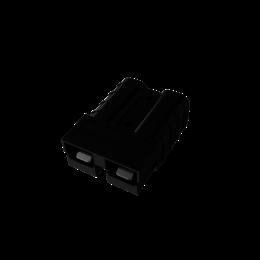 Anderson SB 50 connector zwart - 6mm2