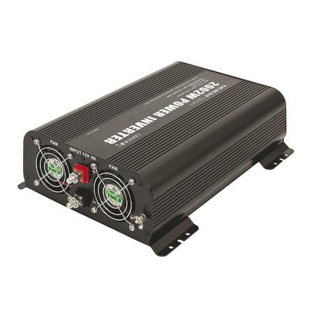 GYS PSW 2002W 24V | Omvormer / inverter | 2 x 230V Schuko + 2 x 5V USB | met afstandsbediening