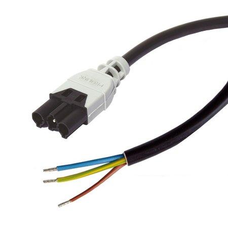 Ratio Prolink-Open Einde Netsnoer 3G 1,5mm²- 3 meter