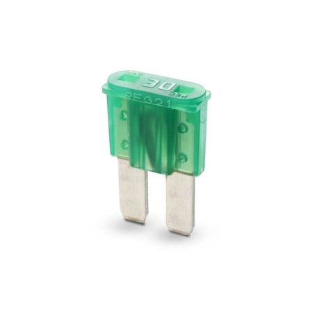 Mikroto Bladzekering 30A Groen