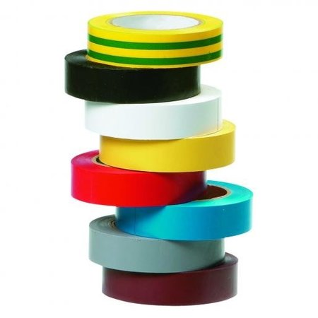 BizLine Vinyltape 15mm x 10m - set van 8 kleuren