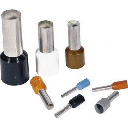 BizLine Adereindhuls 0,5mm2 Wit