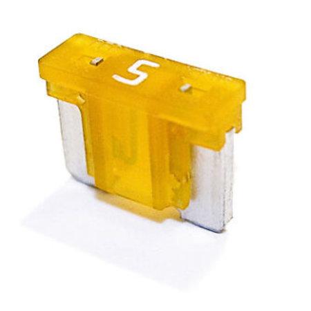 Minioto Low Profile Zekering 5A Geelbruin