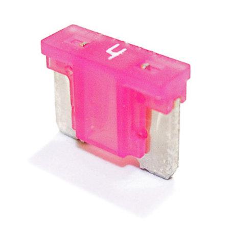 Minioto Low Profile Zekering 4A Roze