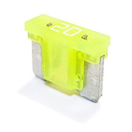 Minioto Low Profile Zekering 20A Geel