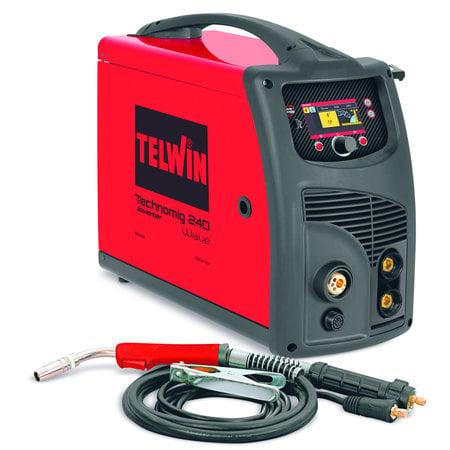 Telwin Technomig 240 Wave Microprocessor Gestuurde Lasmachine